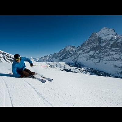 手ぶらでOK!ユングフラウエリアのスキー...の写真