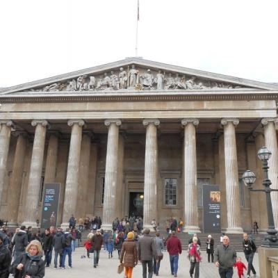 大英博物館午後見学&4ツ星ホテルでのアフ...の写真
