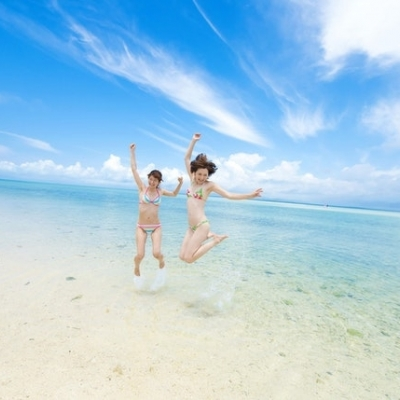 絶景のケラマブルーに出会う ! 渡嘉敷島...の写真