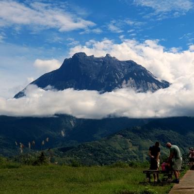 世界遺産キナバル公園とキャノピーウォークの写真