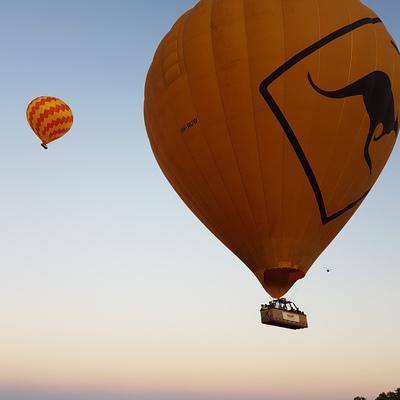 熱気球遊覧飛行ケアンズ発の写真