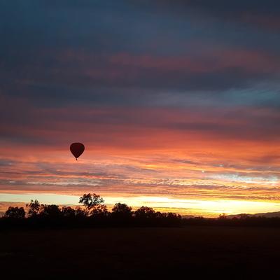 熱気球遊覧飛行ゴールドコースト発の写真