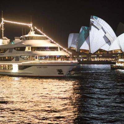 シドニー湾 キャプテン・クックディナーク...の写真