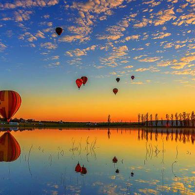 シドニー・カムデン発 熱気球 (60分・...の写真
