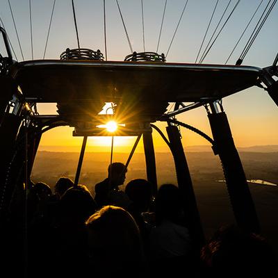 ヒンターランド熱気球(30分・オライーズ...の写真