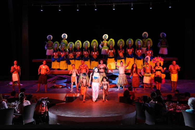 オプショナルツアー「ショーのみプラン (後方・サイド/ 通常席)」の写真