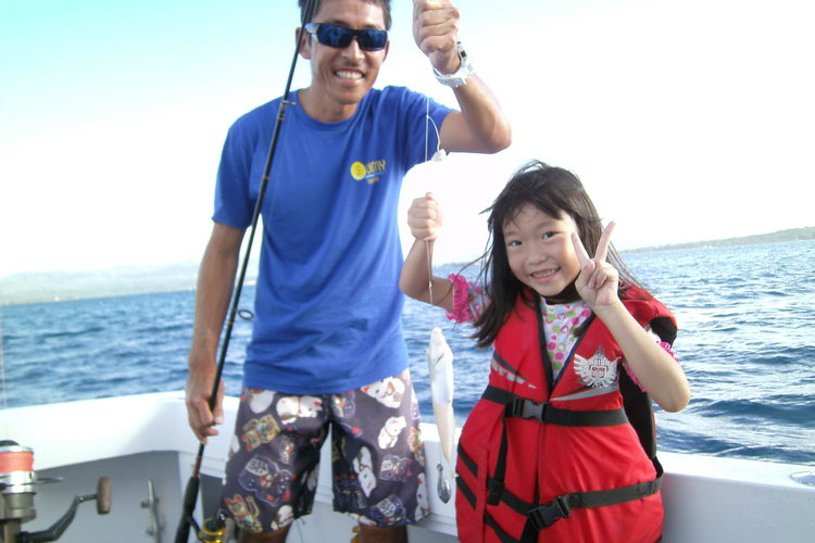 グアムのお魚を釣ろう トロピカルフィッシ...の写真