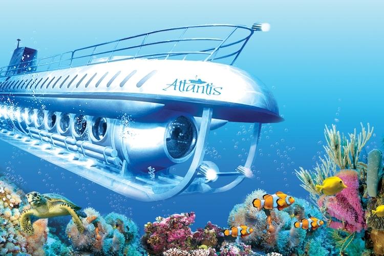 潜水艦に乗って海中探索!アトランティスサ...の写真