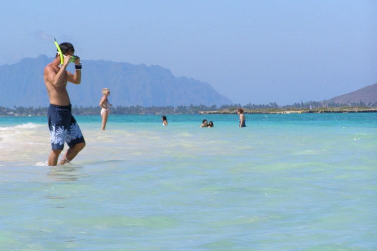 全米No.1の海カイルアビーチ大満喫♪自...の写真