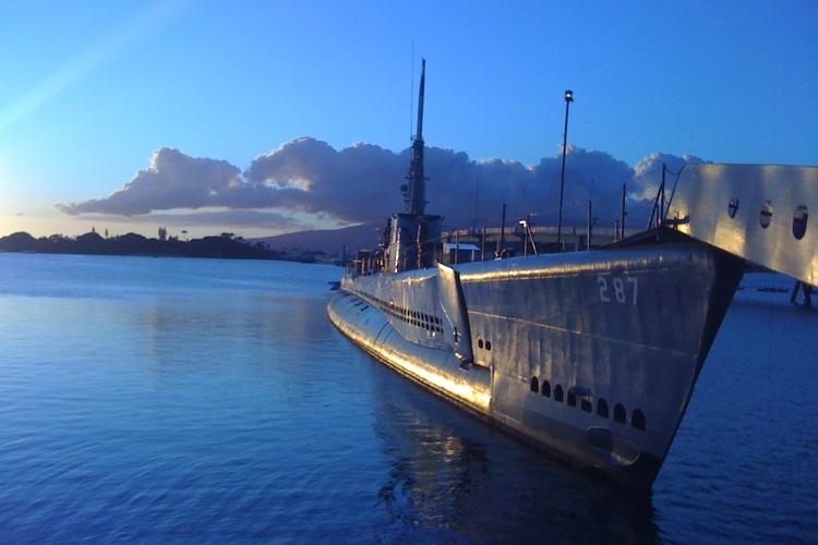 真珠湾(パールハーバー) たくさんの歴史...の写真