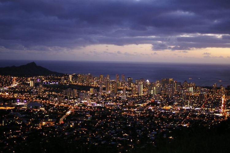 オアフ島No.1の夜景スポット『タンタラ...の写真