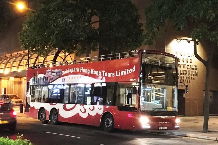 オープントップバス + ヴィクトリアピー...の写真