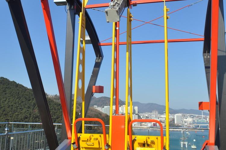 甘川文化村と松島海上ケーブルカー半日ツア...の写真