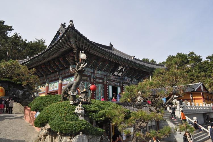 千年古刹「金井山 梵魚寺」 + 機張「海...の写真
