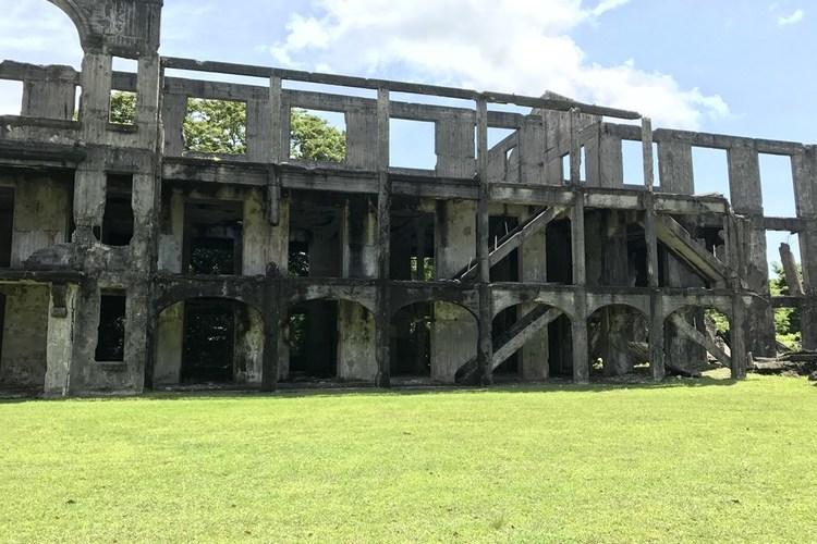 コレヒドール島 戦跡観光の写真