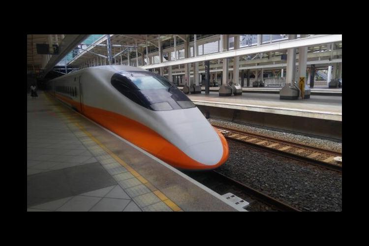 台湾高鉄周遊券引換証の写真