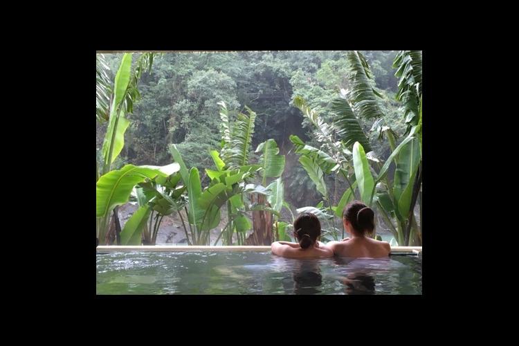 馥蘭朵烏来の温泉体験の写真