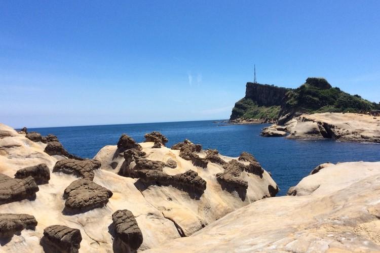 基隆港、野柳、北海岸公園観光の写真