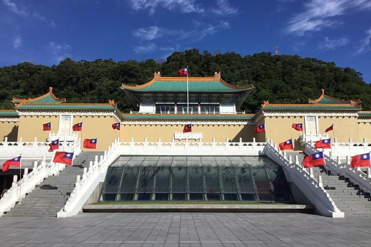 台北市内観光の写真