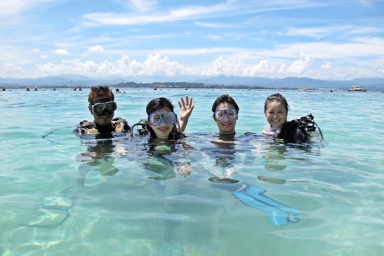 コタキナバル ダイビングツアー [ファン...の写真