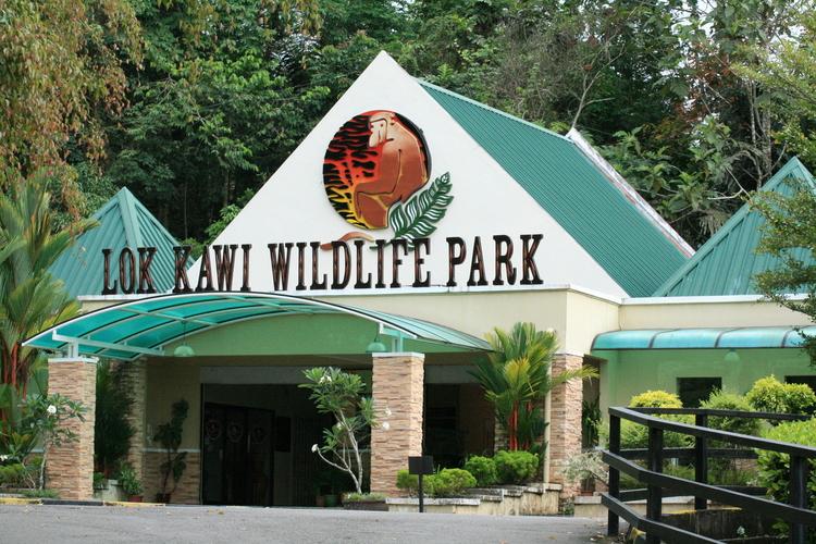 ロッカウィ動物園とショッピングの写真