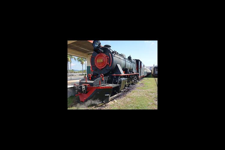 北ボルネオ鉄道ー蒸気機関車で行く半日観光...の写真