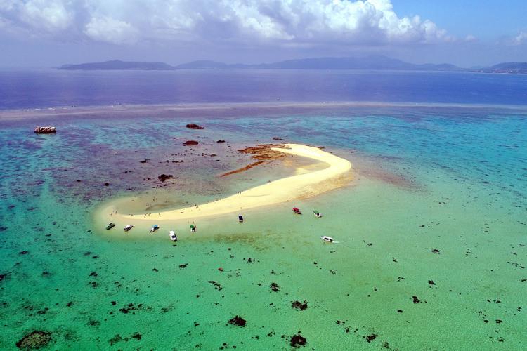 ロケーション抜群の無人島へ♪ 幻の島上陸...の写真