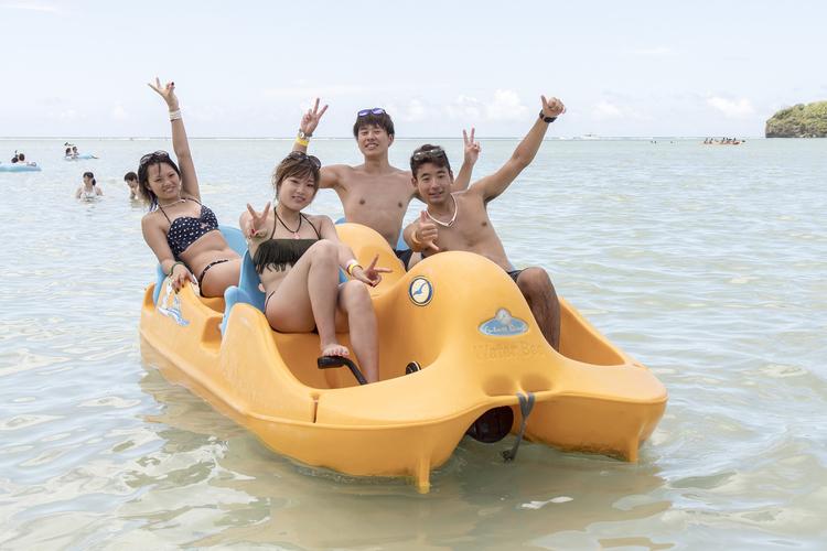 遊び放題のビーチアクティビティ&選べるパ...の写真