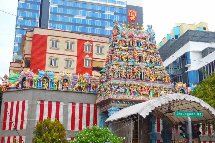 シンガポールの寺院