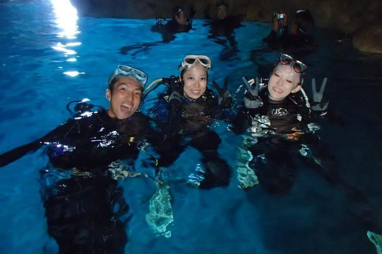 青の洞窟 体験ダイビング by 沖縄ダイ...の写真