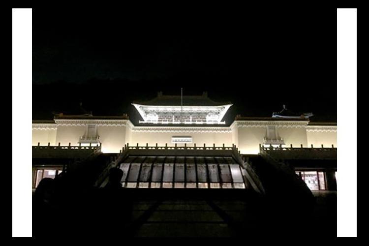 故宮博物院ナイトミュージアムツアーの写真