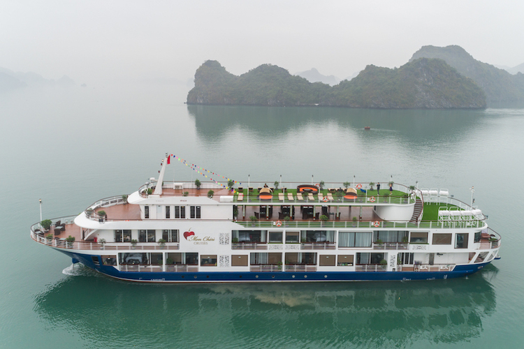 最新2018年2月公開 ハロン湾ボート...の写真