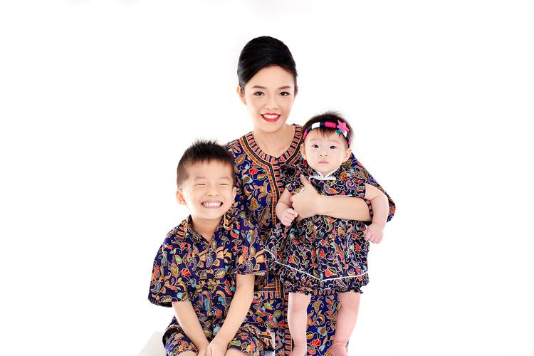 [体験] シンガポール民族衣装 変身写真の写真