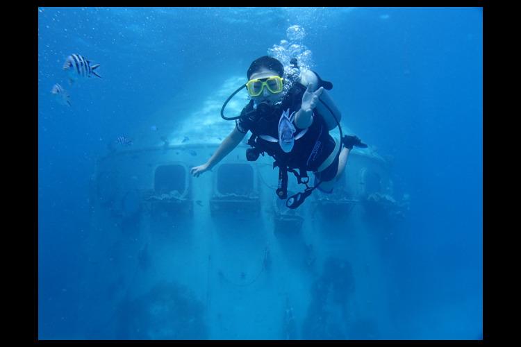 ボートダイビング  (ライセンス保持者対...の写真