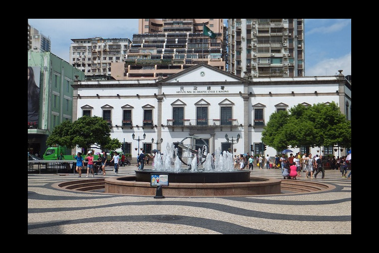 マカオポルトガル旅情 (マカオ世界遺産観...の写真
