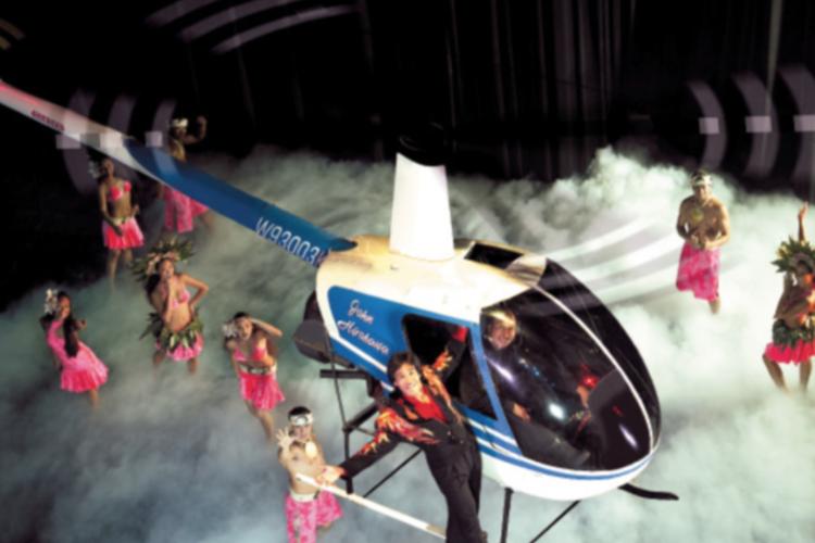 オプショナルツアー「サークルアイランド & マジックオブポリネシア デラックスディナーショー (ドリンク一杯付き)」の写真
