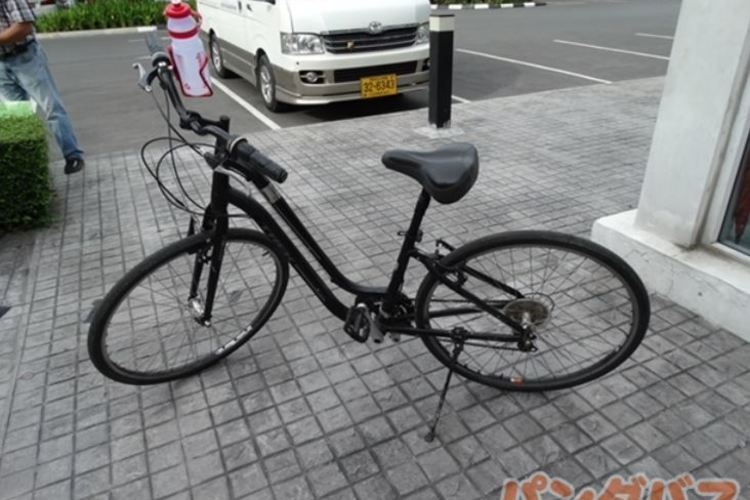 自転車に乗って爽快に バンコク半日サイク...の写真