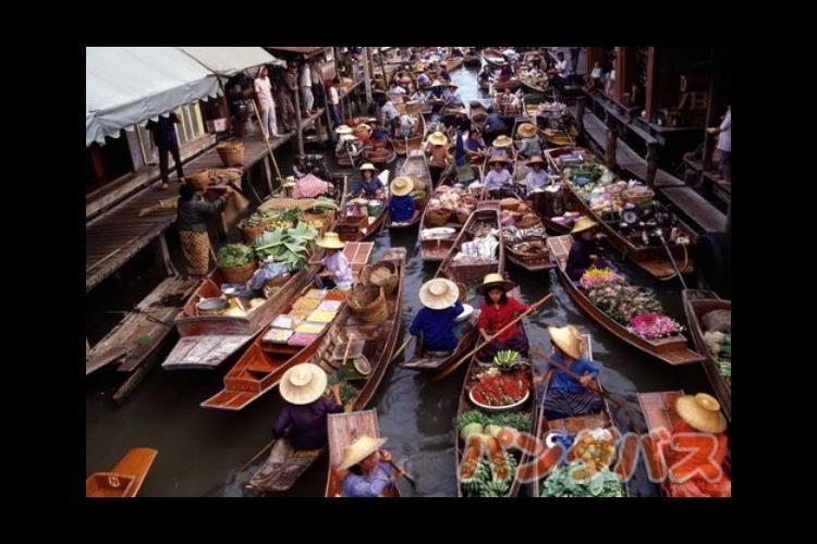 首長族と水上マーケット (昼食無し/付き...の写真