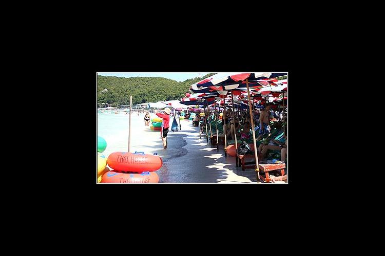 パタヤ日帰り観光 (ラン島)の写真