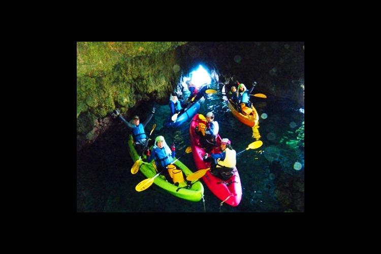 青の洞窟スタンダードツアー! グラスボー...の写真