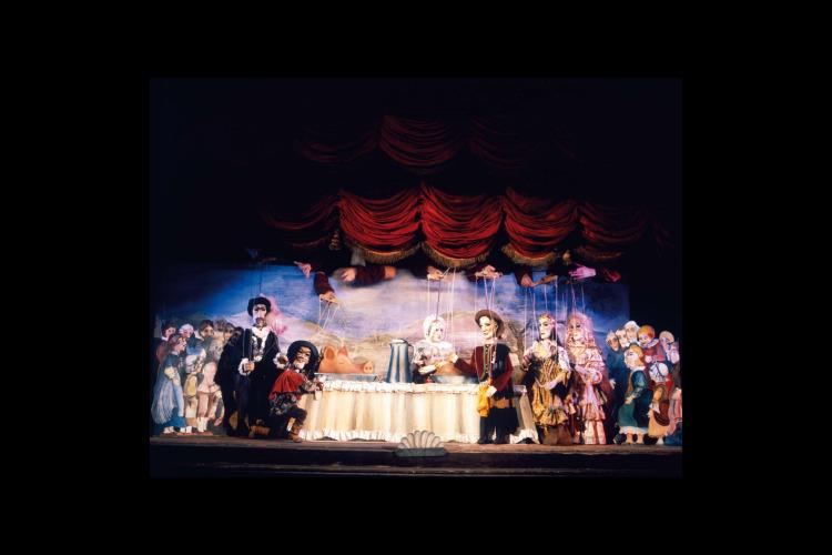 プラハ伝統の人形劇と名物ディナーを楽しむ...の写真