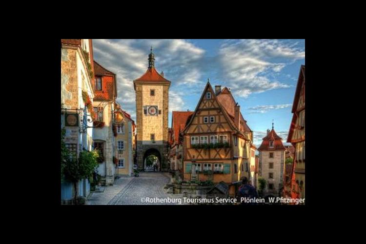 ローテンブルクとロマンチック街道の町ディ...の写真