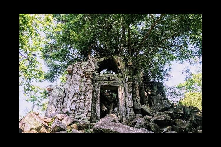 『天空の城?』ベンメリア + 『天空の寺...の写真