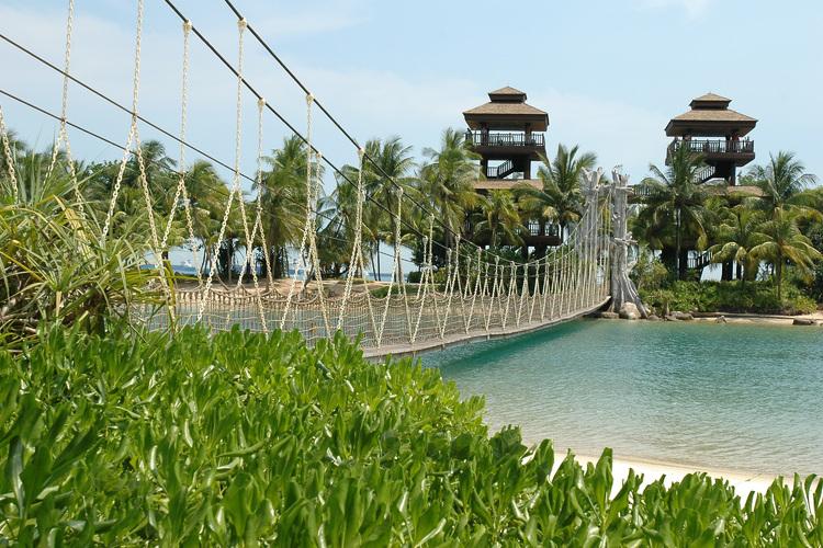 島全体がテーマパーク 定番セントーサ観光の写真