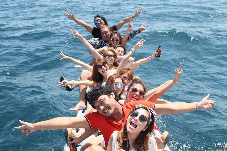 アイランドホッピング ヒルトゥガン島 +...の写真
