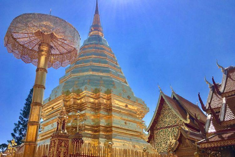 [チェンマイ発]ドイ・ステープ寺院とメオ...の写真