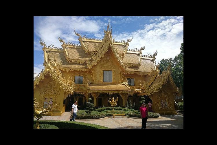 ゴールデントライアングル + 有名寺院 ...の写真