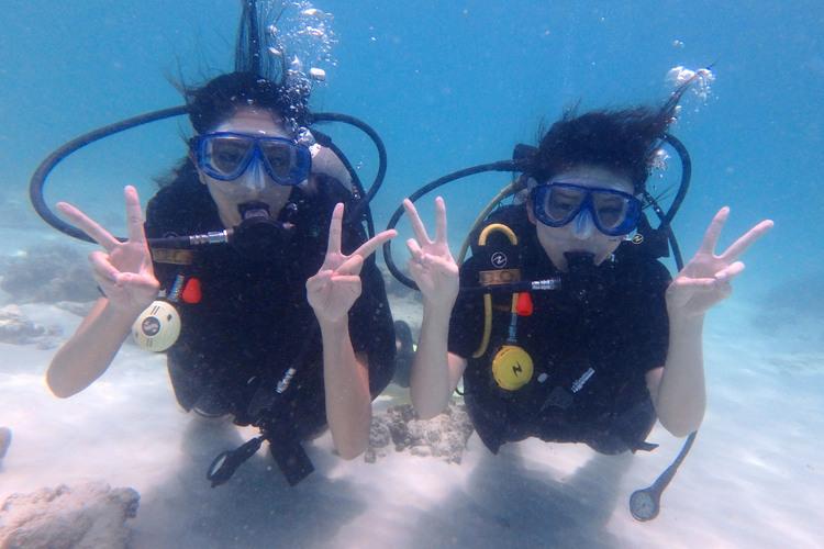 コーラル島体験ダイビングツアー 象乗り体...の写真