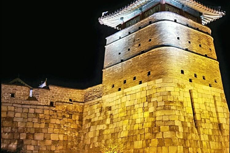 水原華城ナイトツアーの写真