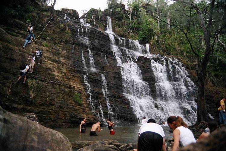 ローカルに大人気の滝 ターザンフォールへ...の写真